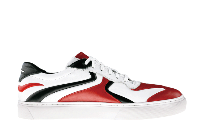 PS-KABUKU WHITE/RED