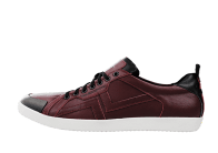 PS-758 BURGUNDY/BLACK