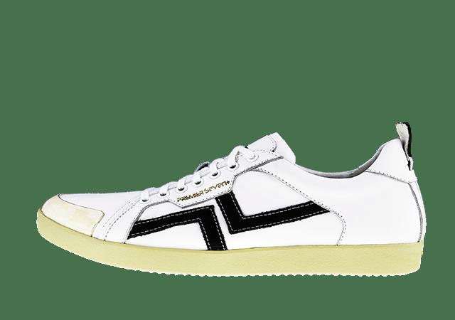 PS-758 WHITE/BLACK
