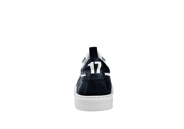 PS-735 WHITE/NAVY 4