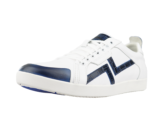 PS-758 WHITE/NAVY 2