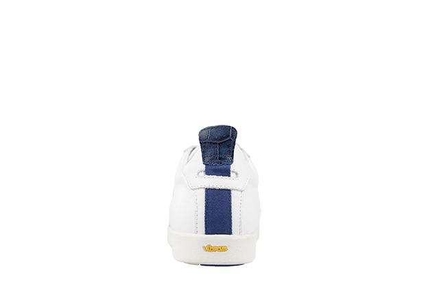 PS-758 WHITE/NAVY 4