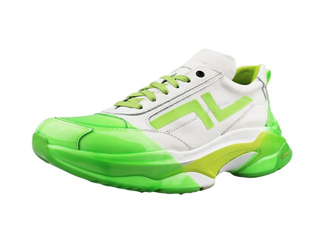 MOBILE  WHITE/LIME 2