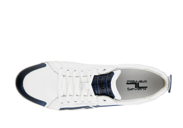 PS-758 WHITE/NAVY 5