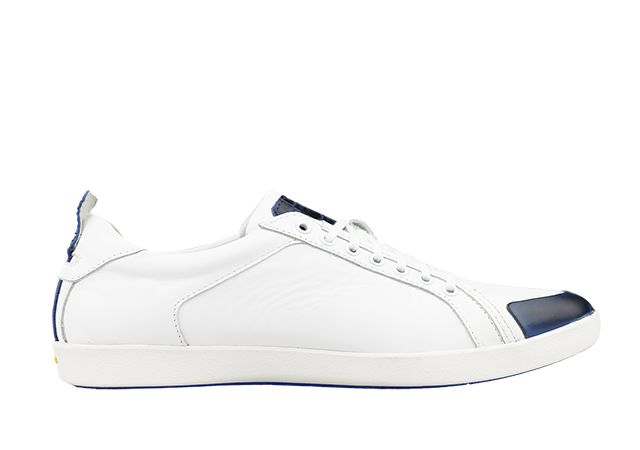 PS-758 WHITE/NAVY 1
